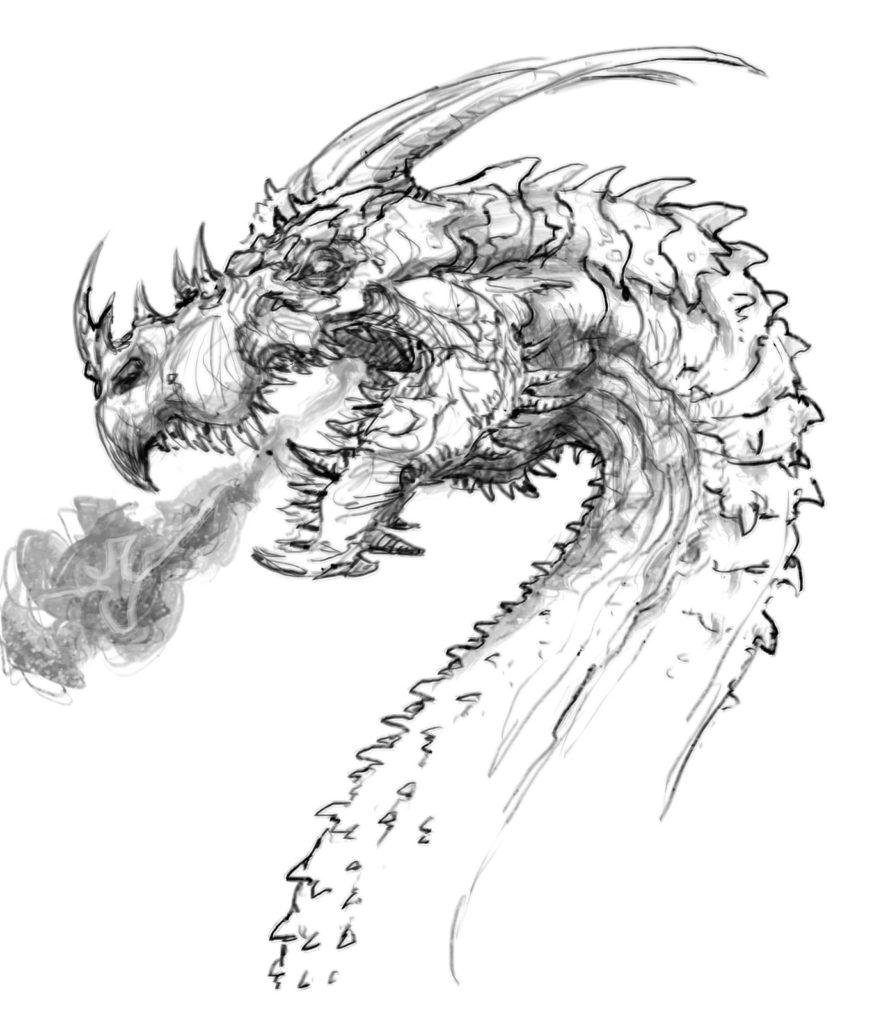 Dungeon Starter Podcast Titelbild Drache