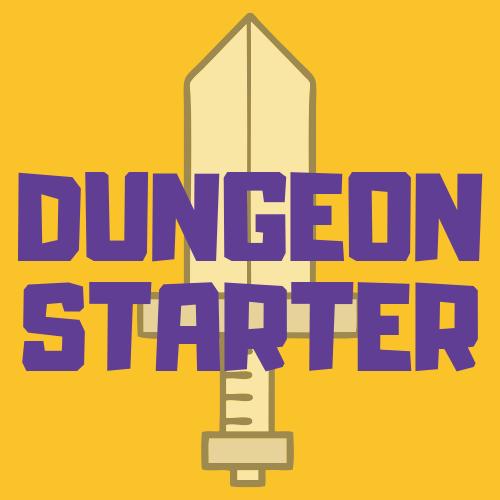 Logo von Dungeon Starter Rollenspiel Podcast und Blog