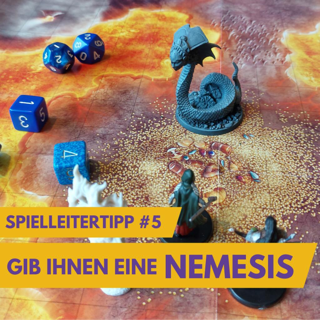 Nemesis und Gegenspieler in Rollenspiel Kampagnen