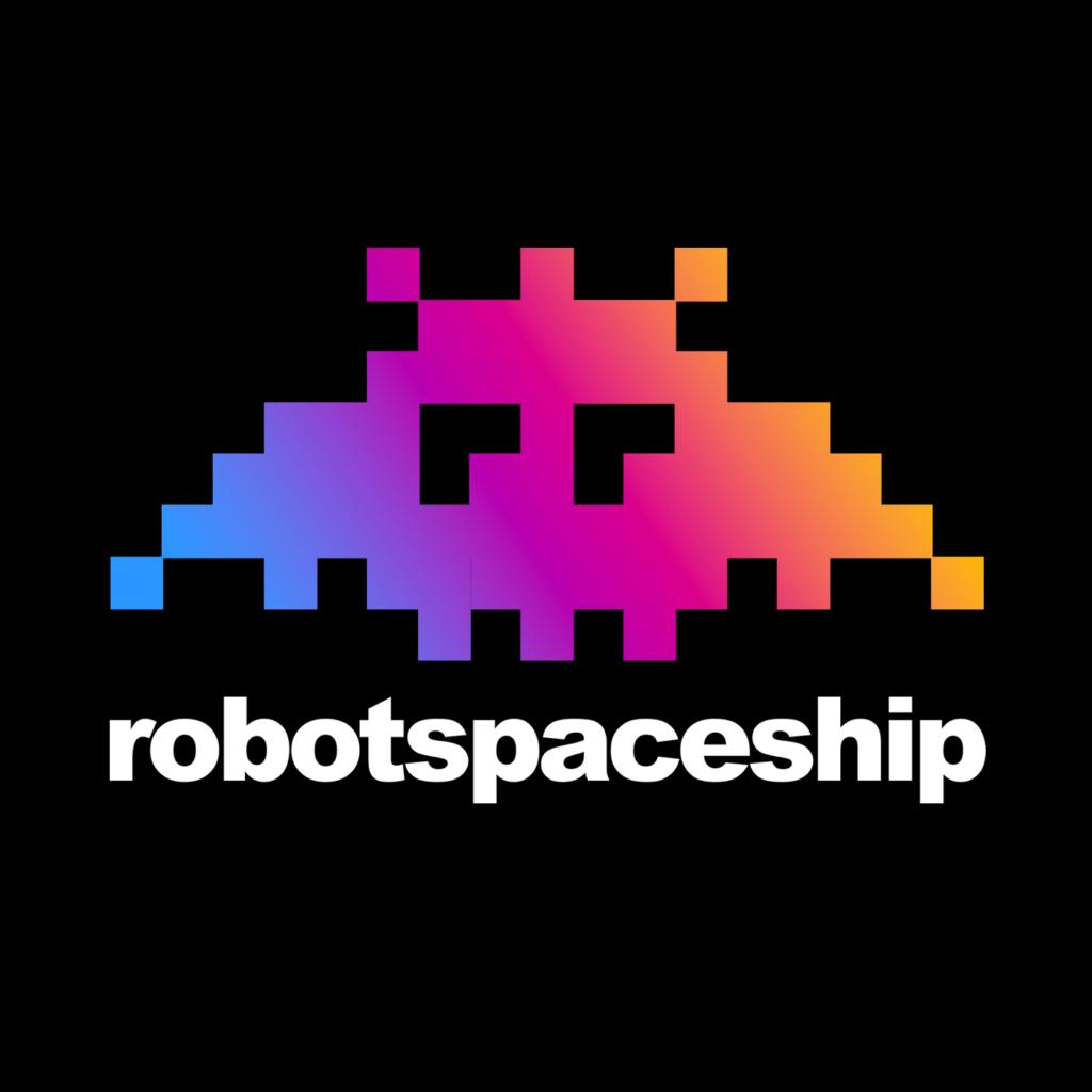 Logo des Podcast-Netzwerks robotspaceship